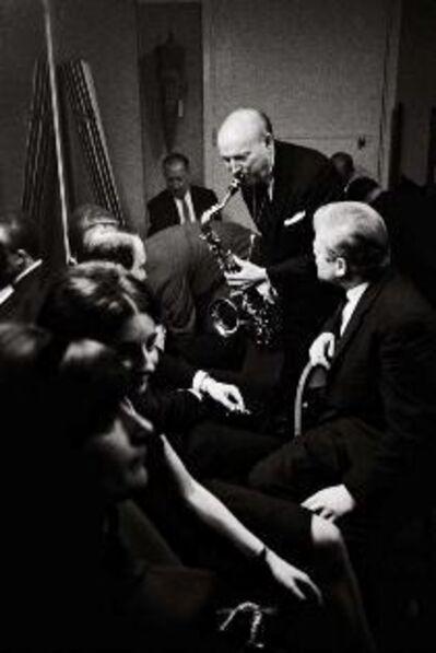 Hervé GLOAGUEN, 'Bud Freeman, Paris', 1964