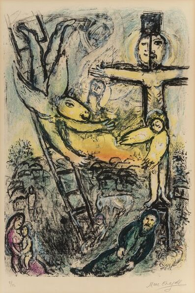 Marc Chagall, 'Vision de Jacob', 1971