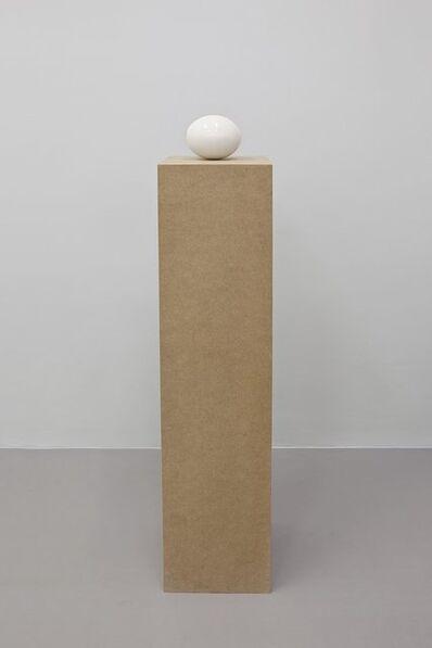 Karin Sander, 'Ostrich Egg, Polished / Straußenei, poliert', 1994-2004