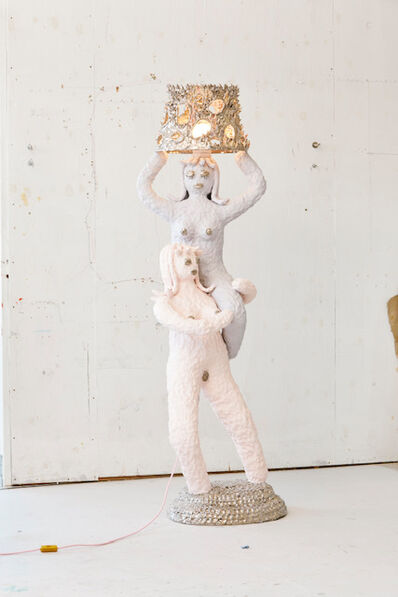 Katie Stout, 'Double Lady Lamp', 2019