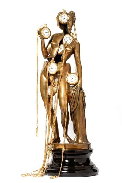 Arman, 'Venus with clocks'