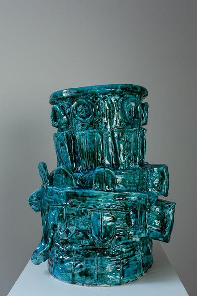 Bela Silva, 'Depinto de blu', 2021