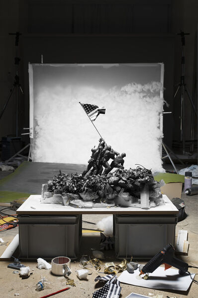 "Cortis & Sonderegger, ' Making of ""Raising the Flag on Iwo Jima"" (by Joe Rosenthal, 1945), 2015', 2015"