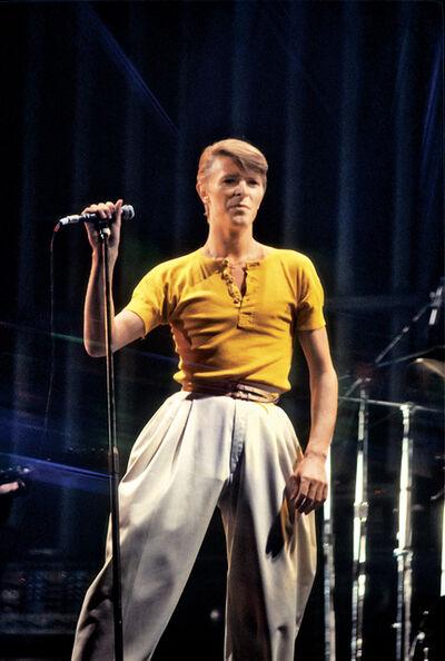 Allan Tannenbaum, 'David Bowie, Spectrum ', 1978