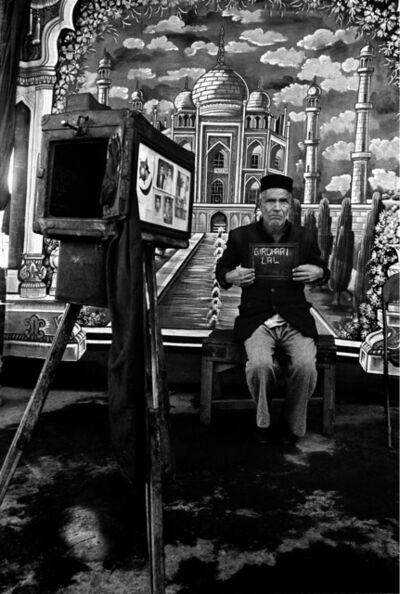 Raghu Rai, 'Girdhari Lal Being Photographed , Delhi', undated