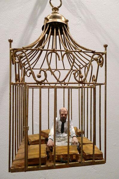 Isaac Cordal, 'Asceta', 2013