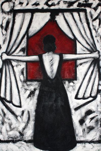 Gronk, 'La Tormenta', 1985