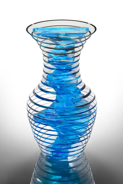 Sidney Hutter, 'Polished Plate Glass Vase #32-18', 2018