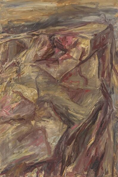 Philip Pearlstein, 'Moonlit Mountain', 1955