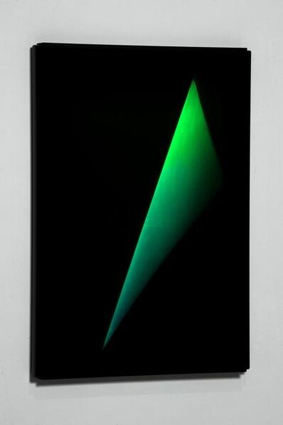 James Turrell, 'XXX_C OUT TRIANGLE', 2012