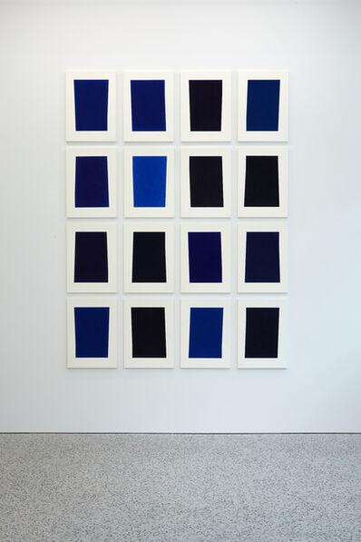 Kees Visser, '16 Shades of Blue (Y Series)', 2016