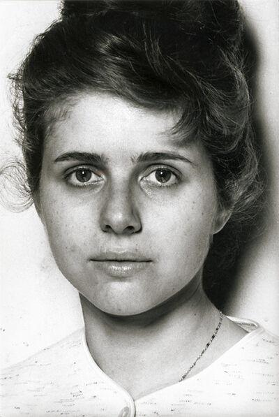 Frank Horvat, 'Portrait  of Anne-Marie Edvina', 1961