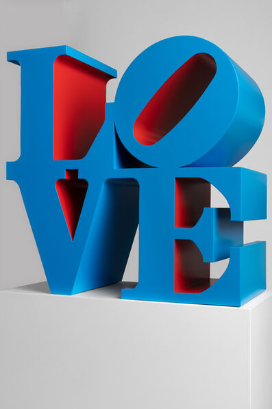 Robert Indiana, 'LOVE (Blue/Red)', 1966-1998
