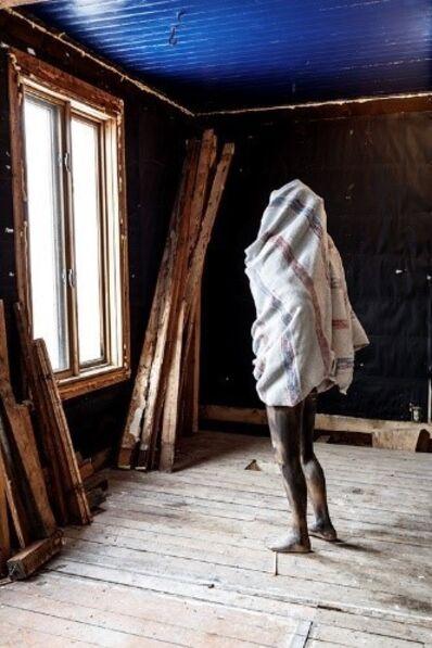 Jean-Robert Drouillard, 'Une silhouette emballée (Madame Choui)', 2017