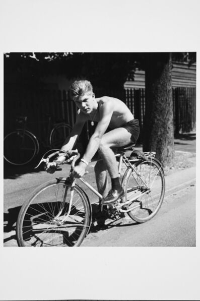 Karlheinz Weinberger, 'Young cyclist', 1960