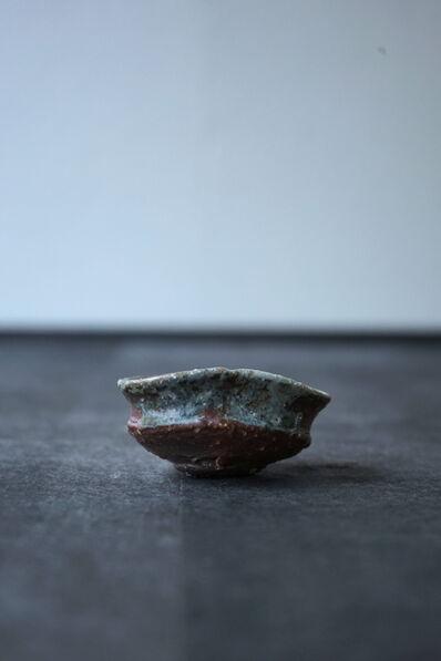 """Shiro Tsujimura, 'Sake Cup """"Iga-Style""""'"""