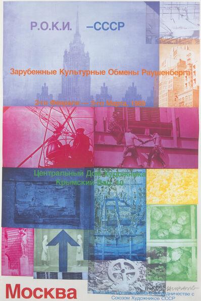 Robert Rauschenberg, 'Roci: Moscow', 1989