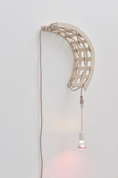 Dana Hemenway, 'Untitled (Cord Weave No. 5 - speckled peach)', 2019