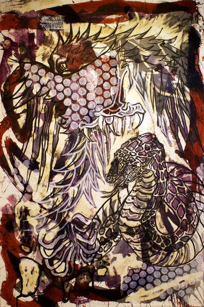 Lucio Santiago, ' Quetzalcóatl, El Origen Inerte 6', 2016