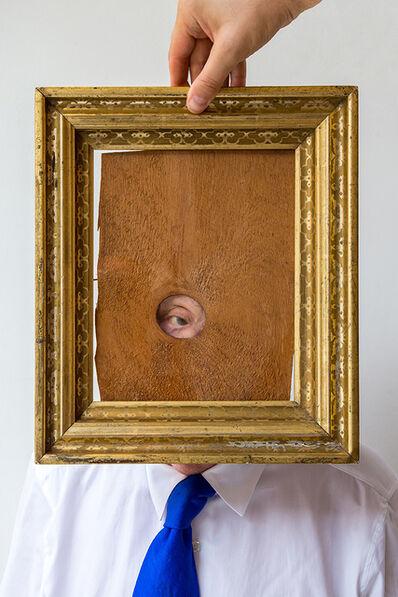 Duane Michals, 'Peephole Portrait ', 2017