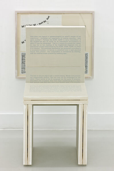 Art & Language, 'THE HOSTAGE OF DIALECTICAL MATERIALISM', 2009