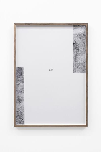 Adrien Missika, 'Camino Por Desierto (ahí)', 2018