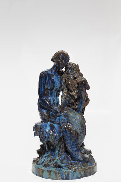 Paulina Olowska, 'Mermaid with old man (after Robert Diez)', 2014
