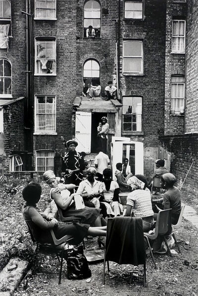 Colin Jones, 'The Black House, Holloway Road, London', 1976