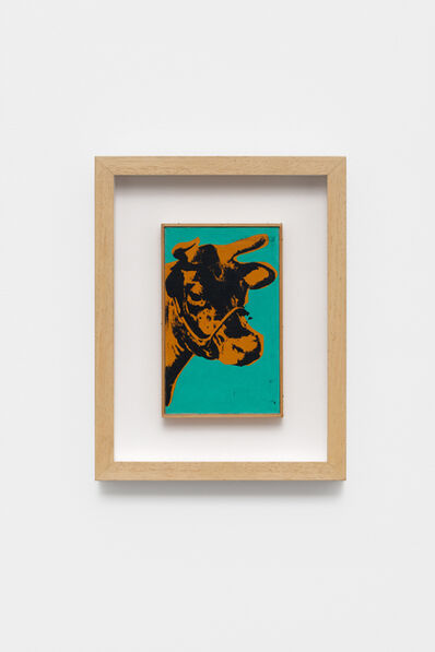 Richard Pettibone, 'Andy Warhol, Cow', 1971