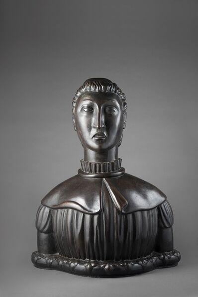 Arturo Martini, 'Busto di ragazza', 1980