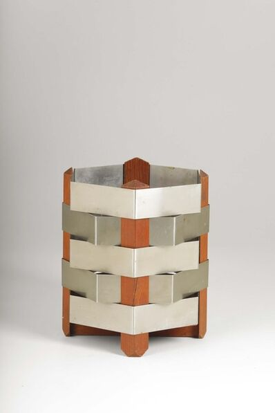 Ico Parisi, 'A mod. 1702 Paliade document holder in wood and steel', 1959