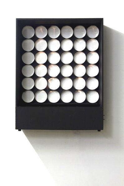 Julio Le Parc, 'Continuel-lumière avec 36 cylindres', 1967