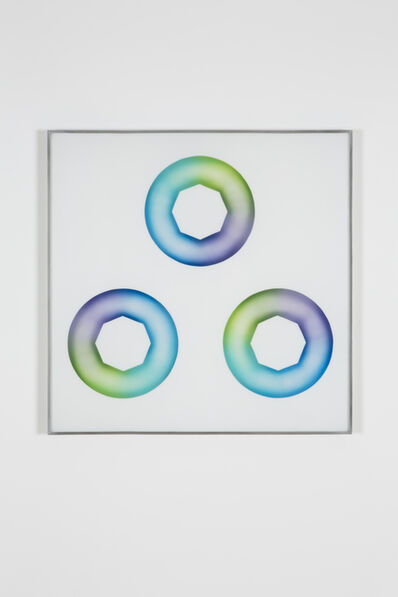 Judy Chicago, 'Green-blue Star Cunts', 1969