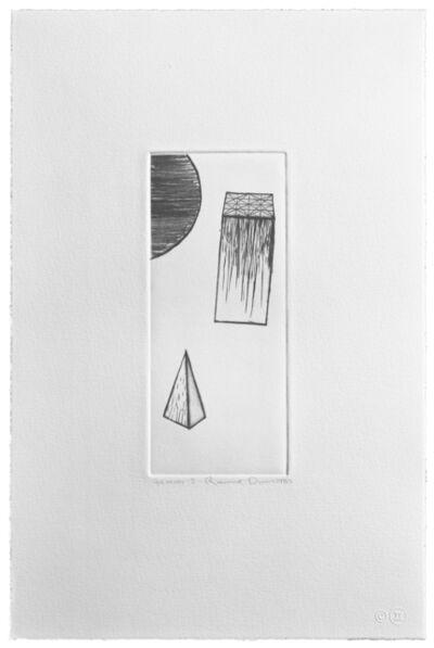 Ronald Davis, 'Drypoint Kappa', 1981