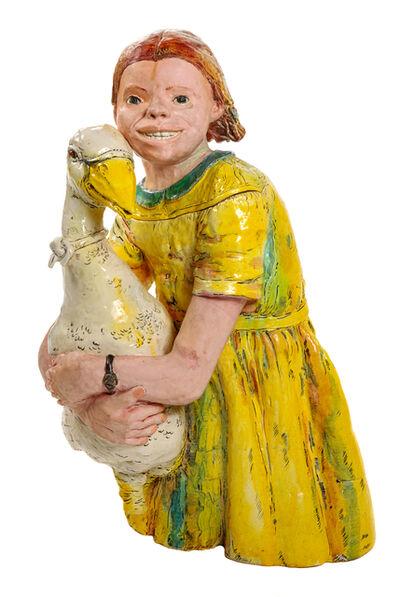 Viola Frey, 'California Garden Goose Girl', 1975