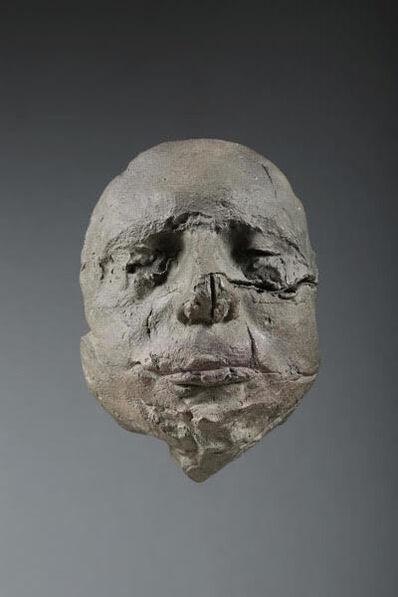 Stephen De Staebler, 'John Guttman Face', 1985