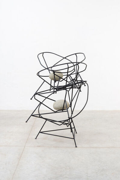 Jose Dávila, 'Acapulco chair stack', 2021
