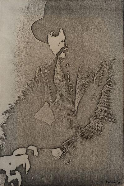 Mimmo Rotella, 'Autoportrait', 1969
