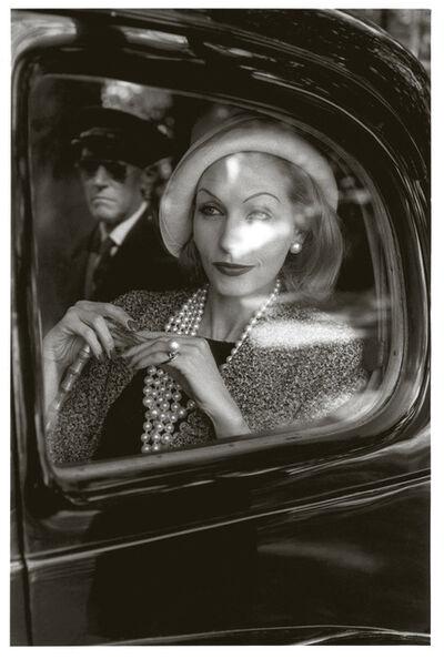 Jeanloup Sieff, 'Denise Saurrault, Monte Carlo, Jardin des modes', 1960