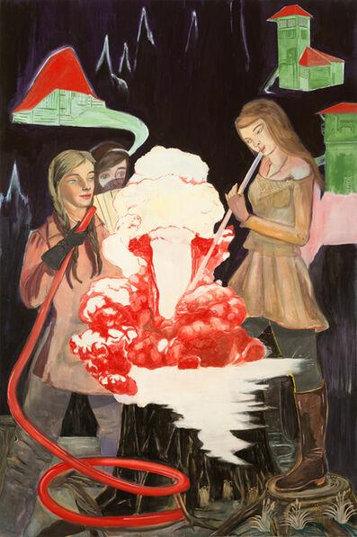 Rosa Loy, 'Bearbeitung', 2015