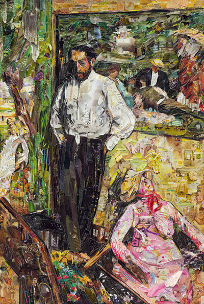 Vik Muniz, 'Pictures of Magazine 2: Man and Puppet, after Edgar Degas', 2013