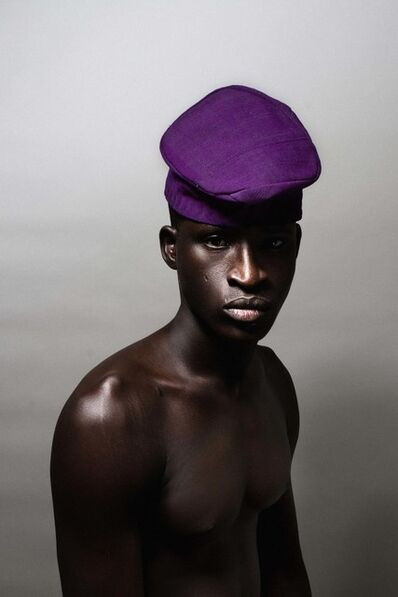 Lakin Ogunbanwo, 'Untitled (Purple Hat)', 2013
