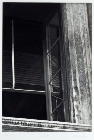 Nona Hershey, 'July 1981 (an open window representing an escape or opportunity)', ca. 1983