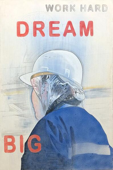Johanna Kandl, 'Untitled (work hard dream big)', 2019