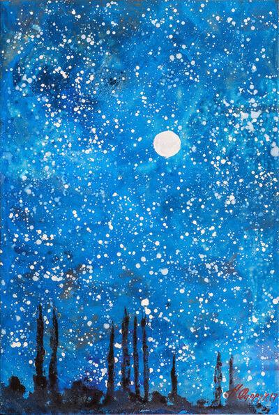 Farrukh Negmatzade, 'Starry sky in Yagnob', 3000