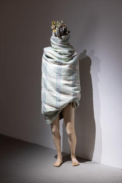 Jean-Robert Drouillard, 'Silhouette emballée et contaminée (Hélène)', 2020