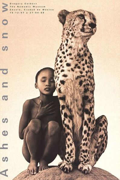 Gregory Colbert, 'Child with Cheetah, Mexico City', 2007