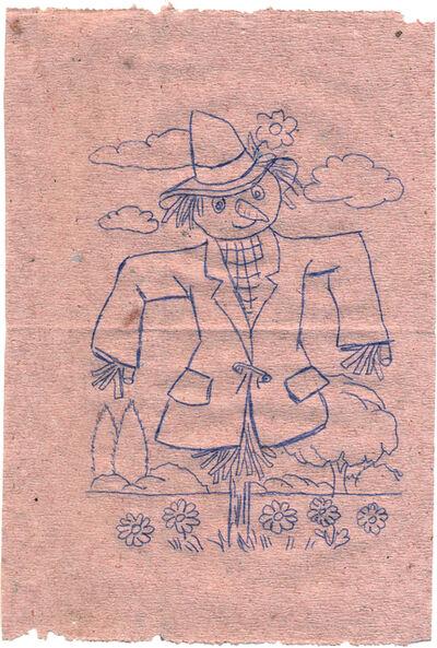 Dejan Kaludjerović, 'Scarecrow', 1997