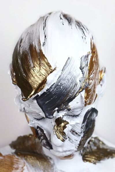 Sophie Derrick, 'Monochrome Metallics - White, Bronze, Gold & Steel #2', 2018