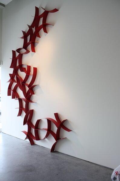 Morgan Robinson, 'Curves A. Red'